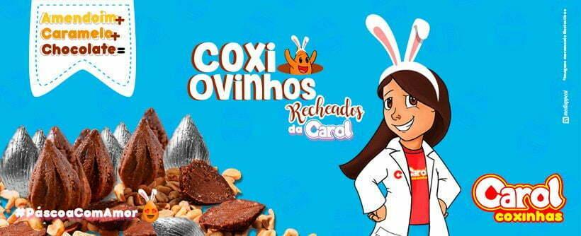 Carol Coxinhas lança CoxiOvinhos para compartilhar a Páscoa com amor!