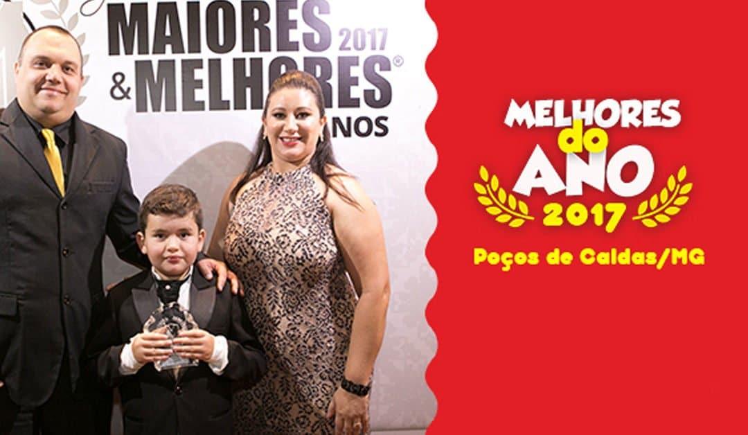 Carol Coxinhas de Poços de Caldas recebe prêmio de Maior e Melhor 2017!