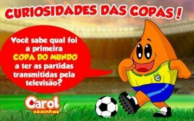 Você sabe qual foi a primeira Copa Do Mundo a ter as partidas transmitidas pela televisão?
