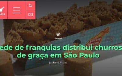 Hypeness – Rede de franquias distribui churros de graça em São Paulo