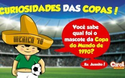 Você sabe qual foi o mascote da Copa do Mundo de 1970?