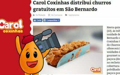 RD – Repórter Diário – Carol Coxinhas distribui churros gratuitos em São Bernardo