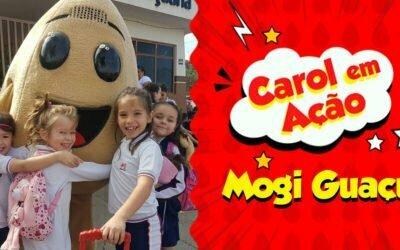 Carol em Ação espalha amor em Mogi Guaçu