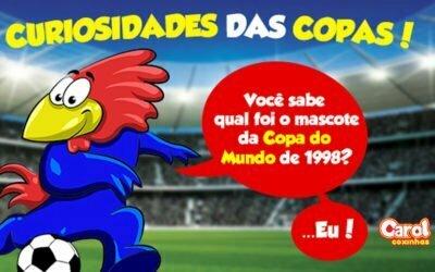Você sabe qual foi o mascote da Copa do Mundo de 1998?