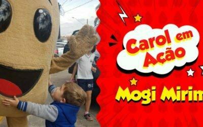 Carol em Ação espalha amor em Mogi Mirim