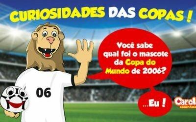 Você sabe qual foi o mascote da Copa do Mundo de 2006?