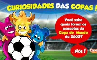 Você sabe quais foram os mascotes da Copa do Mundo de 2002?