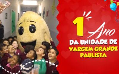 1 ANO DA UNIDADE CAROL COXINHAS VARGEM GRANDE PAULISTA