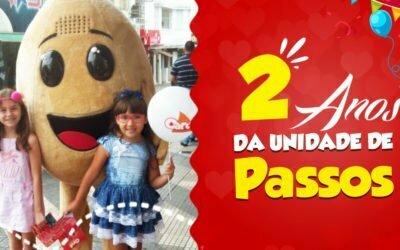 2 ANOS DA UNIDADE CAROL COXINHAS PASSOS