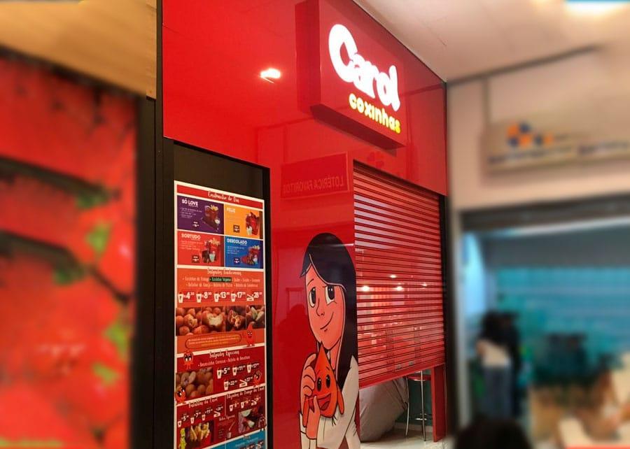 Carol Coxinhas inaugura sua primeira loja no Shopping Metrô Tucuruvi – SP