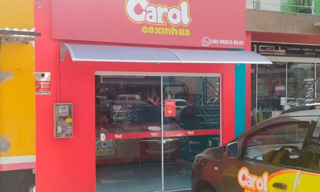 Carol Coxinhas chega em Forquilhinhas – SC