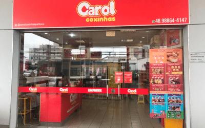 Carol Coxinhas chega em Palhoça – Santa Catarina